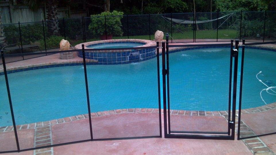 Pool Safety Fences add a definition to the pool and the transparency is unbelievable.
