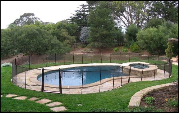 Pool Safety Fence by Pool Guard Pensacola, FL